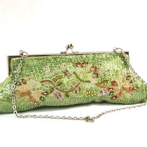 Beaded Clutch/ Handbag